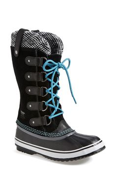 SOREL 'Joan of Arctic - Knit' Waterproof Boot - love my Sorels!
