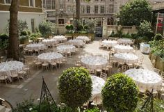 London Luxury Wedding Hotel The Middleton Rose Garden A Rare Outdoor Venue Langham