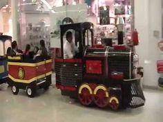 Trenes infantiles Eléctricos: Tren Infantil para plazas comerciales  (Musica y canción) - Venta. - YouTube