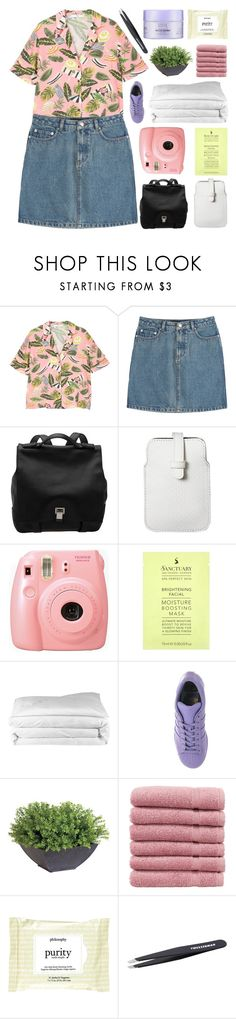 """in return i gave a song / update rtd"" by peachy-clean ❤ liked on Polyvore featuring MANGO, A.P.C., Proenza Schouler, Mossimo, Fujifilm, Frette, adidas, Ethan Allen, Linum Home Textiles and Tweezerman"