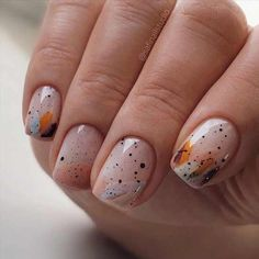 Minimalist Nails, Ten Nails, Manicure Y Pedicure, Short Nail Manicure, Manicure Ideas, Dream Nails, Chrome Nails, Cute Acrylic Nails, Nagel Gel