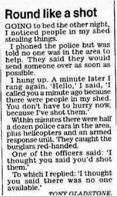 Policemen...