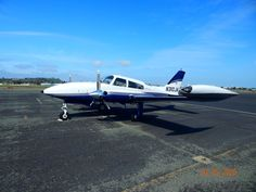 """Described as the """"Corvette of the Skies"""" is the 1978 Cessna T310R. Offered by Circle M Aviation, this aircraft is absolutely loaded! Available for $175,000.00 USD. #aircraftforsale #cessnaaircraft #cessna #tradeaplane Cessna Aircraft, Kalispell Mt, Engine Pistons, Outdoor Camping, Corvette, Aviation, Sky, Heaven, Corvettes"""