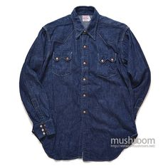 Denim Button Up, Button Up Shirts, Denim Shirts, Western Wear, Posters, Clothing, How To Wear, Jackets, Vintage