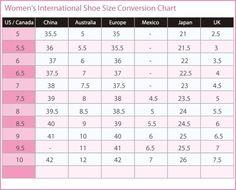 vans infant shoe chart