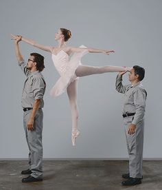 Quirky and lovely photograph by Diana Koenigsberg. #ballet