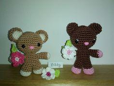 Amigurumi Bears - crochet - My handmade - Libuše-Libby