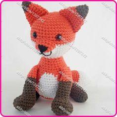 Mejor-ganchillo-venta-Amigurumi-zorro-Kawaii-Animal-de-peluche-hecho-a-mano-juguete-Crochet-DIY-juguetes.jpg (570×570)