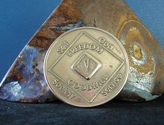 5 Year Narcotics Anonymous Vintage NA Medallion Coin Chip Token