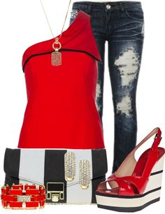 """""""Barefeet Jeans"""" by glamatarian on Polyvore"""