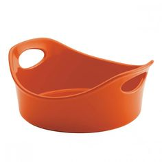 The ultimate essential for your one-dish dinners, Rachael Ray's fun and functional Stoneware Round Open Baker makes putting together a delic. One Dish Dinners, Stoneware, Orange, Stuff To Buy, Style, Cooking, Kitchen, Products, Swag