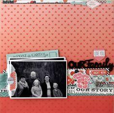 our family *Cocoa Daisy Dec kit-Home Again