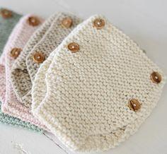 Modèle de tricot pour débutants bébé tiroirs modèle apprendre à tricoter couche couverture BRICOLAGE slips nouveau-né bébé bio vêtements