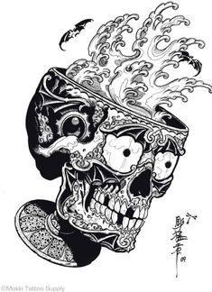 Tibetan Skulls By Horimouja