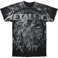 Rockabilia Metallica Stone Justice T-...