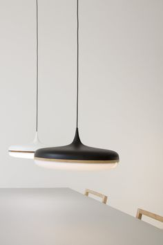 Droplet Pendant by Viktor Legin - Powder Coat exterior allows flexibility to select an array of colours. Standard colours include Dulux Mannex Black, Mannex White. Copper id