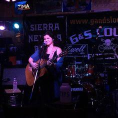 @rebeccaloebe at G & S Lounge for #notsxsw #sxsw2016 #livemusic