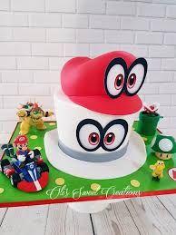 Image Result For Mario Odyssey Cake Mario Birthday Cake Mario
