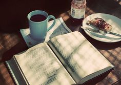 #coffee #breakfast #book