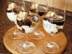 Mousse, Chocolate Deserts, Home Food, Pavlova, Trifle, Sweet And Salty, Mini Cakes, Sweet Recipes, Food And Drink