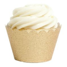 Shimmering Cupcake  Wrappers.
