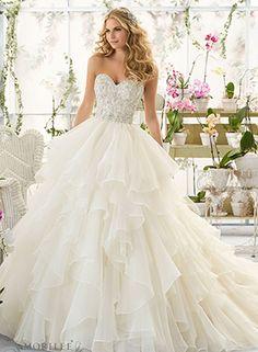 #Morilee #WeddingDress #BridalGown