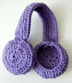 Earmuff Headband Crochet Pattern