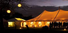 Beautiful, elegant. You can style your marquee however you wish.