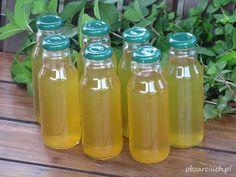Syrop z mięty - Obżarciuch Preserves, Mason Jars, Food, Preserve, Essen, Preserving Food, Mason Jar, Meals, Butter