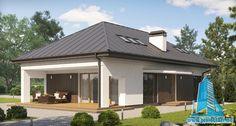 Atrium, Garage Doors, Outdoor Structures, Outdoor Decor, Home Decor, House Ideas, Decoration, Houses, Build House