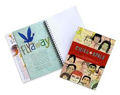 Look what I found at UncommonGoods: chill & spill journal...