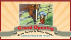 Custom Paintings & Pet Portraits