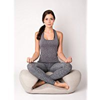 """Alexia Meditation Seat """"Ergonimically Correct for the Human Physiology"""" Zen Yoga Chair for Home or Office"""