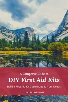 A campers guide to building your own first aid kit. Looking for a DIY first aid kit? A campers guide to building your own first aid kit. Looking for a DIY first aid kit? Winter Camping, Camping With Kids, Family Camping, Tent Camping, Camping Baby, Glamping, Diy First Aid Kit, Camping First Aid Kit, Camping Guide