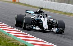 Download wallpapers Mercedes-AMG F1 W09, EQ Power, Valtteri Bottas, new racing car, HALO defense, new cockpit protection, pilot protection, Formula 1, Mercedes-AMG Petronas Motorsport, Formula One racing car