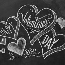 Lily & Val — Chalkboard Art