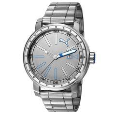 [EXTRA] - Relógio Analógico Masculino Puma 96257G0PSNA2 - Cromado - R$ 280,86 AV