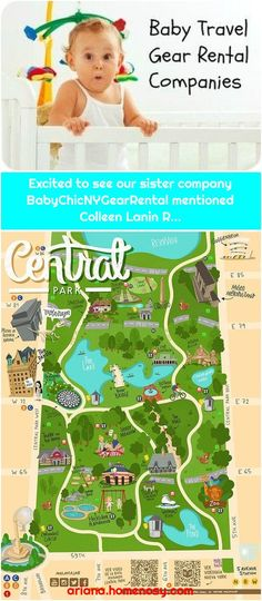 Map of Central Park New York molaviajarExcited to see our sister company BabyChicNYGearRental mentioned Colleen Lanin R. Excited to see our siste. Ver Video, Baby Travel, Traveling With Baby, Used Iphone, Central Park, Travel Tips, Sisters, York, Map