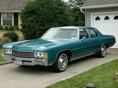 1971 CHEVROLET IMPALA 4 DOOR SEDAN My parents had a Kingswood wagon this same color