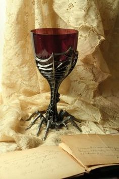 Arachnia Goblet. Crawling straight from the oaken hall table of any haunted…