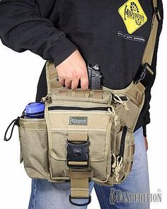 Maxpedition Jumbo Versipack - I carried a jumbo fatboy for a few months, I really liked it but I ended up going with the 511 clone versipack simply because I liked the pocket layout a little more.