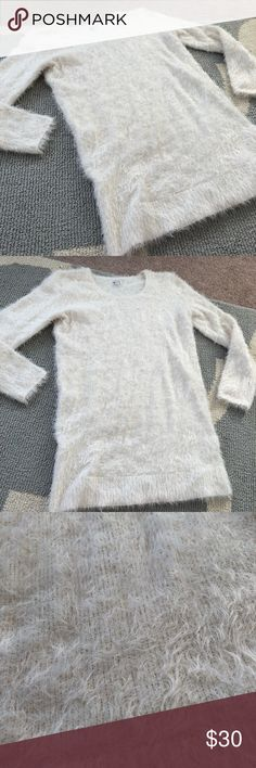 Charming Charlie Polar Bear Sweater Dress Super soft white sweater dress by charming Charlie. Perfect with leggings and boots. Size large. Charming Charlie Dresses