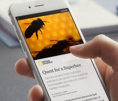 I'll be glad when we get instant articles for the SHINE Facebook pages!