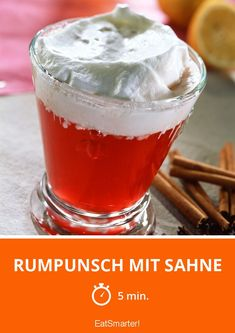 Rumpunsch mit Sahne You are in the right place about Dairy 2020 Here we offer you the most beautiful pictures about the Dairy art you are looking for. When you examine the Rumpunsch mit Sahne part of Sangria Recipes, Drinks Alcohol Recipes, Non Alcoholic Drinks, Yummy Drinks, Four Loko, Healthy Eating Tips, Healthy Foods To Eat, Healthy Nutrition, Eggnog Rezept