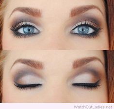Naked 2 Palette for bright blue eyes