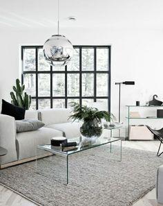 petite table basse en verre, plateau de table en verre, salon moderne