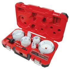 28-pc All Purpose Professional Ice Hardened™ Hole Saw Kit | Milwaukee Tool