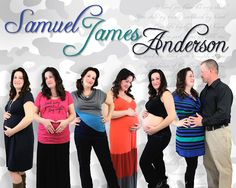 La Rabbitt Designs Preggo Progression, One time photo shoot with Dad!