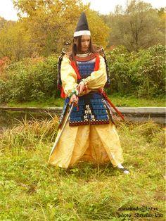Female archer, Heian