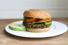 The Stuffed Veggie and Bean Burger   www.veggiesdontbite.com   #vegan #plantbased #glutenfree